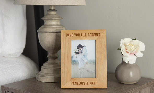 Personalized Love Story Photo Frames -  - Qualtry