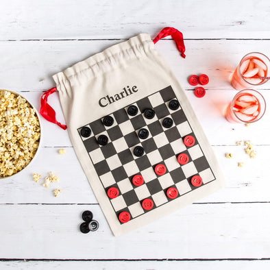 Personalized Checkers Game in a Bag -  - Qualtry
