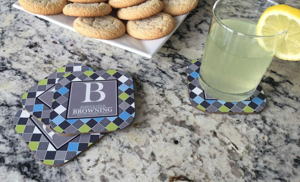 Personalized Full Color Coasters – Set of 4 -  - Qualtry