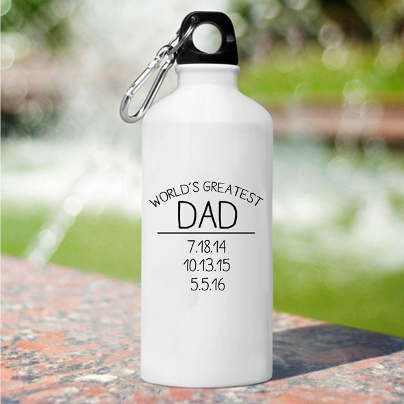 World's Greatest Dad Water Bottle -  - JDS