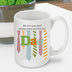 Personalized Father's Day Mug -  - Gifts for Dad - AGiftPersonalized