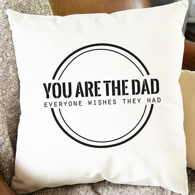 Personalized Throw Pillow Covers (Dad & Grandpa) -  - Qualtry
