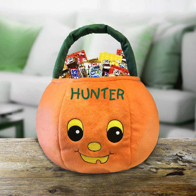 Personalized Pumpkin Trick or Treat Bag -  - JDS