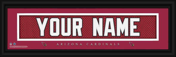 Personalized NFL Stitched Letters Team Print - Cardinals - JDS