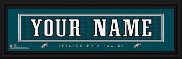 Personalized NFL Stitched Letters Team Print - Eagles - JDS