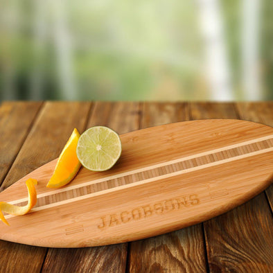 Personalized Surfboard Cutting Board -  - JDS