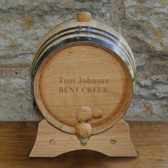 Personalized Whiskey Barrel - Bourbon - Oak - 2 Liter