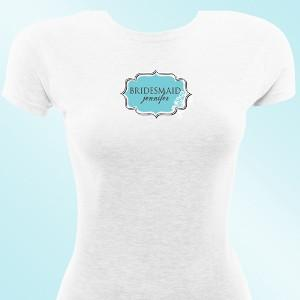 Personalized Bridesmaid T-Shirt -  - JDS