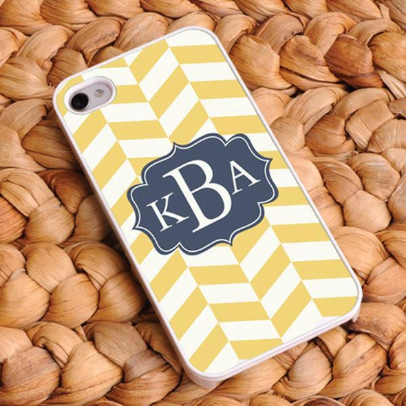 Personalized Chevron Phone Covers - CoastalClassic - JDS