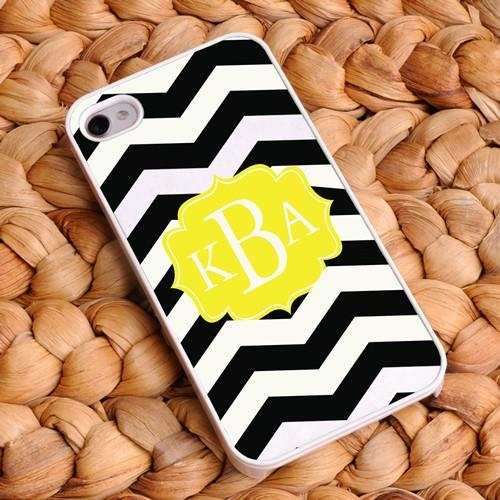 Personalized Chevron Phone Covers