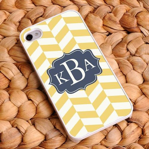 Personalized Chevron iphone Covers - Coastal Classic 4 -  - Gifts for Her - AGiftPersonalized