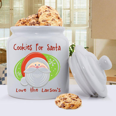 Personalized Holiday Cookie Jars - Cookies - JDS