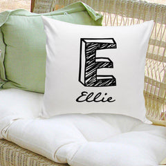 Personalized Throw Pillow - Kate - Home Decor - AGiftPersonalized