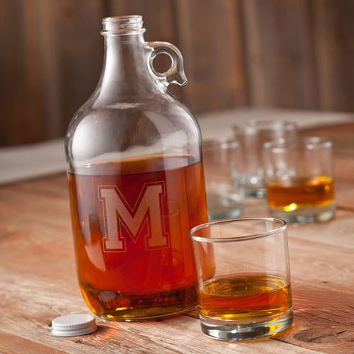 Personalized Whiskey Growler -  - JDS