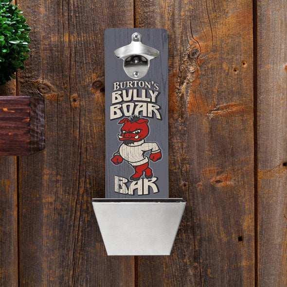 Personalized Wall Mounted Bottle Opener - 12 Designs - Boar - JDS