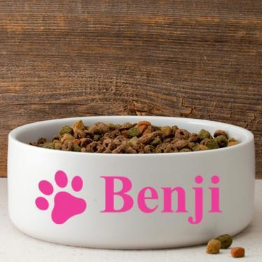Personalized-Large-Dog-Bowl-Happy-Paws