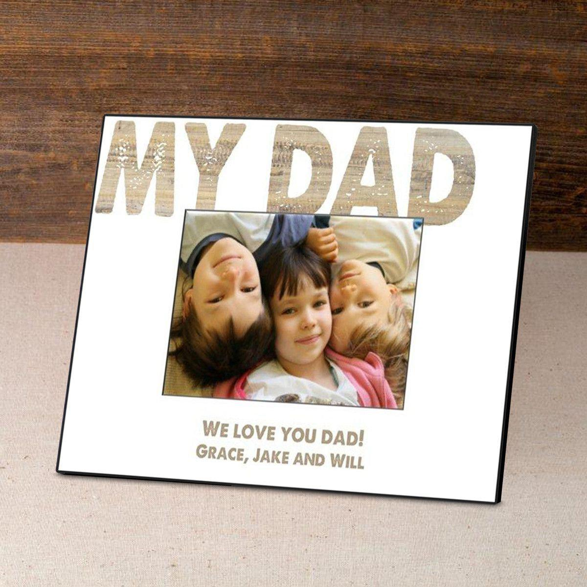 Personalized Father's Day Frame-My Dad