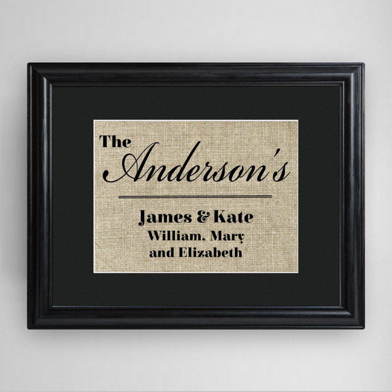 Personalized-Our-Family-Framed-Print