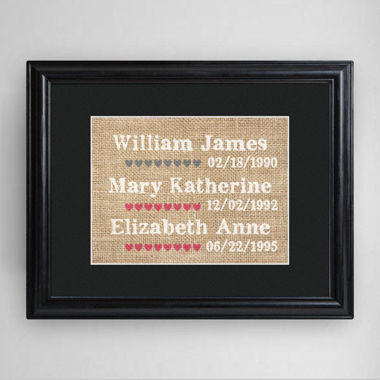 Personalized-Our-Kids-Framed-Print