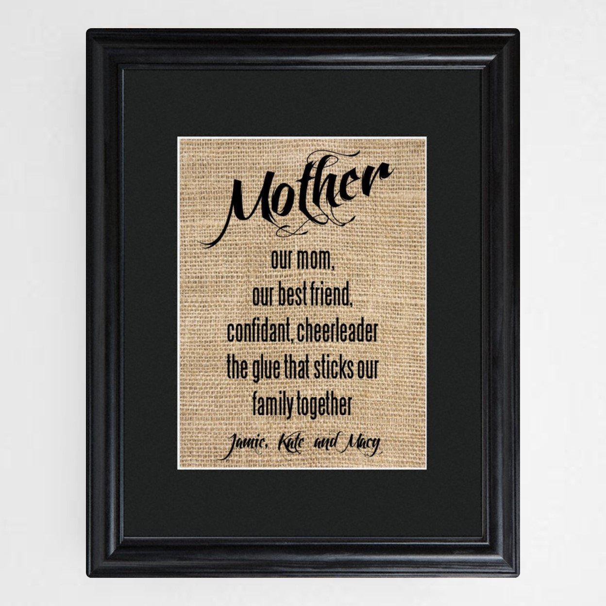 Personalized-Mothers-Framed-Print