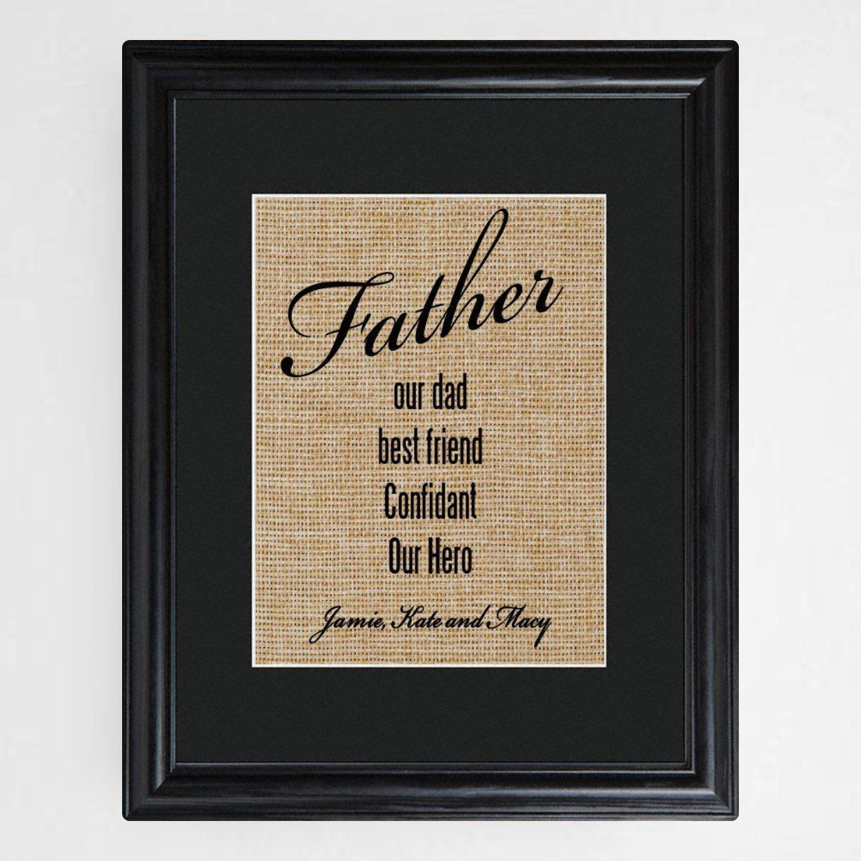 Personalized-Our-Dad-Framed-Print