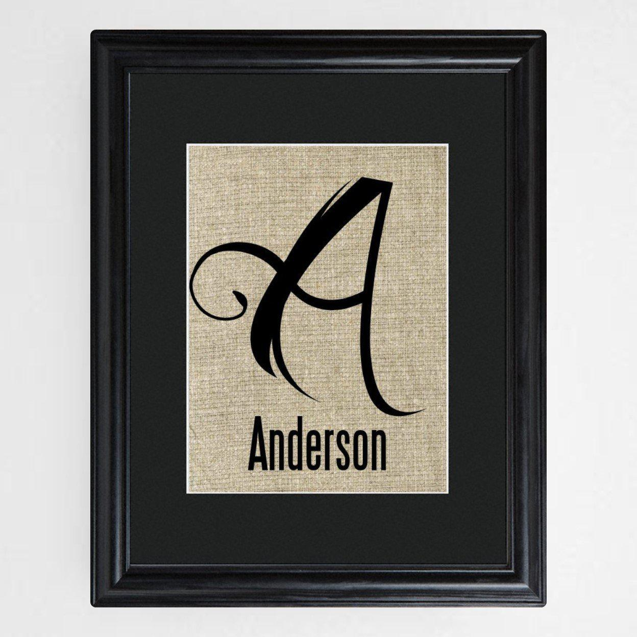Personalized-Family-Initial-Framed-Print