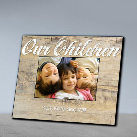 Personalized Family Picture Frame - All - Ourchildren - Frames - AGiftPersonalized