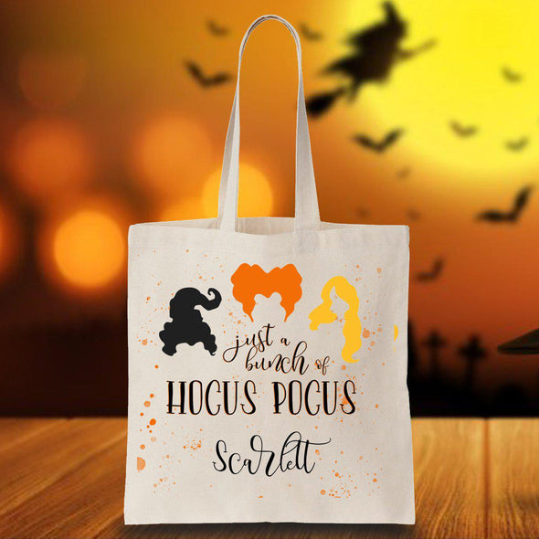Personalized Halloween Hocus Pocus Trick or Treat Bag -  - JDS