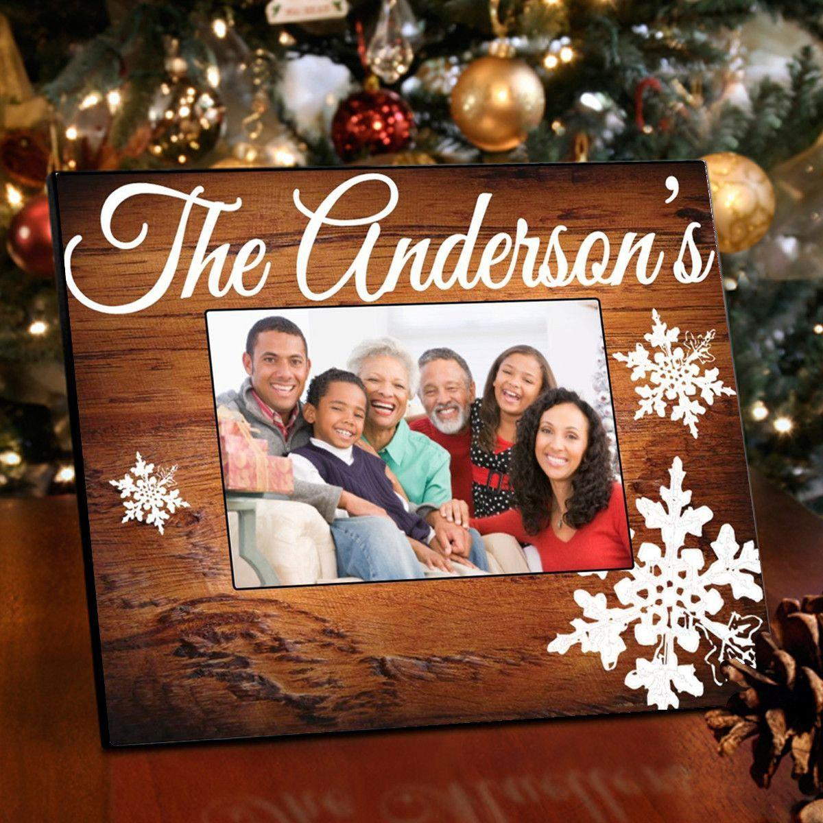 Personalized-Family-Rosewood-Picture-Frame