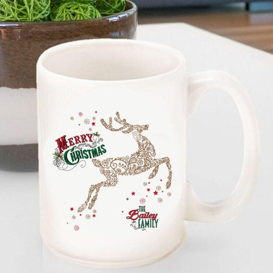 Personalized Vintage Holiday Coffee Mugs - All -  - JDS