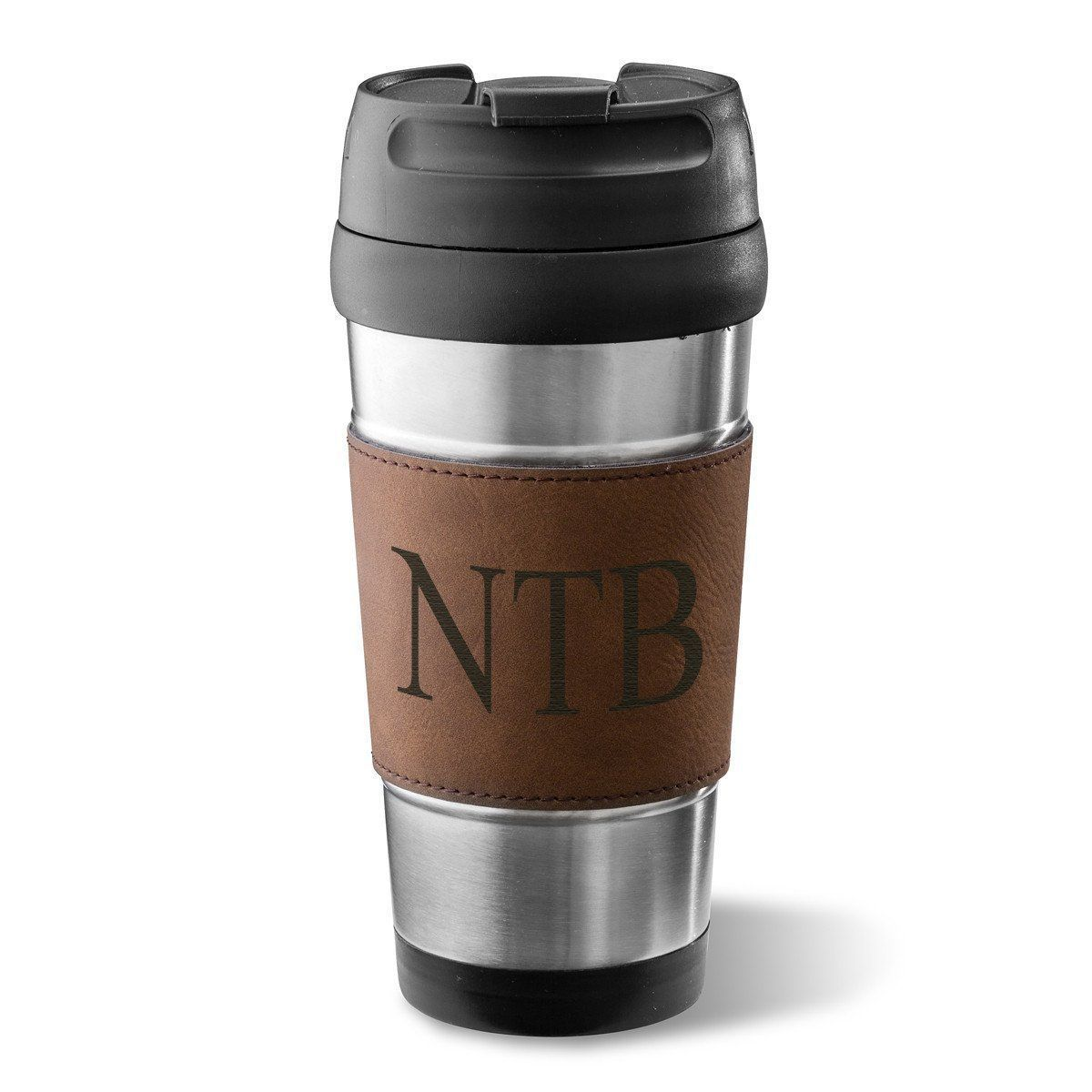 Personalized-Tumblers-Faux-Leather-Stainless-Steel-14-oz