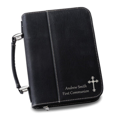 Personalized Small Bible Case - Black - JDS