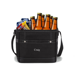 Personalized Trail Cooler - Insulated - Groomsmen - Holds 12 Pack at AGiftPersonalized