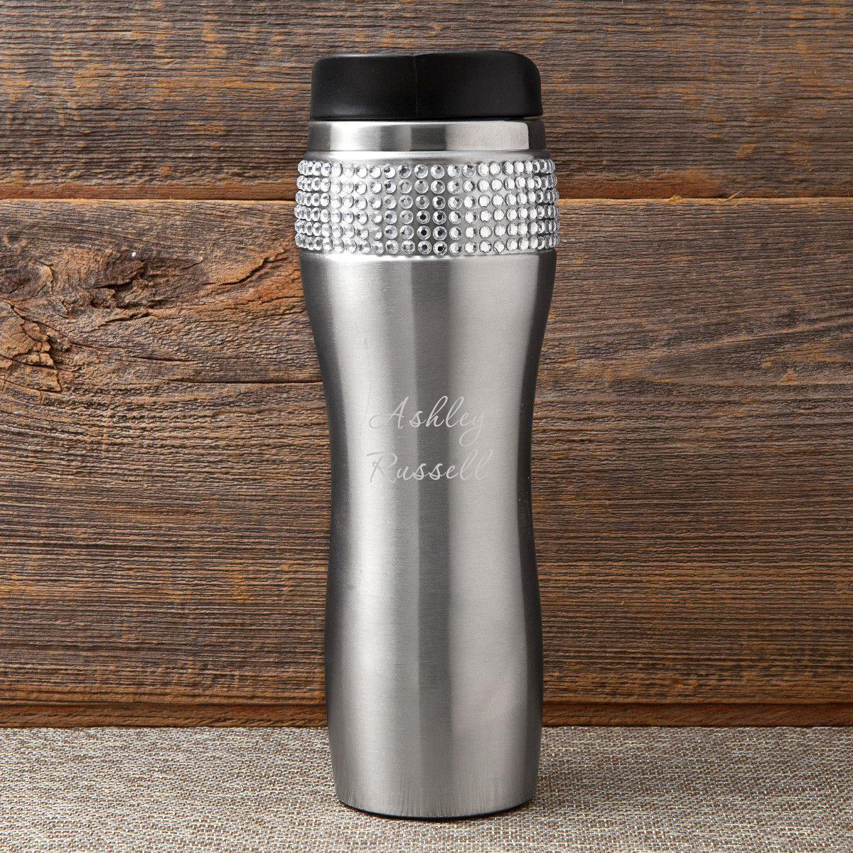 Personalized-Bling-Travel-Tumbler