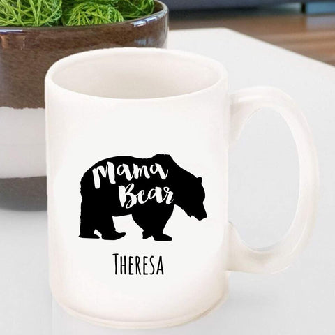 Personalized Coffee Mug - Mama Bear -
