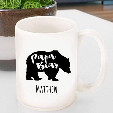 Personalized Papa Bear Coffee Mug -  - JDS