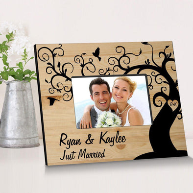 Personalized Winding Down Together Wooden Picture Frame -  - JDS