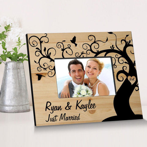 Personalized Winding Down Together Wooden Picture Frame -  - Frames - AGiftPersonalized