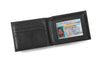 Personalized Black Borello Leather Convertible Wallet -  - JDS