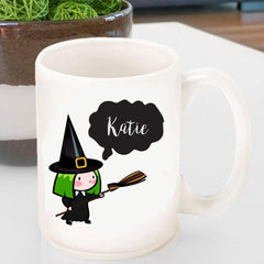 Personalized Halloween Coffee Mugs