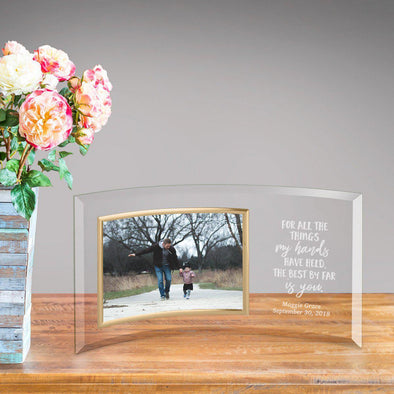 Personalized Glass Picture Frame - Children the Best Is You -  - JDS
