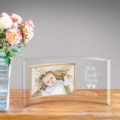 Personalized Glass Picture Frame - Children You Are Loved at AGiftPersonalized