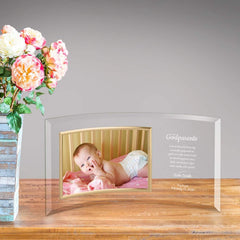 Personalized Godparents Glass Photo Frame -  - Frames - AGiftPersonalized