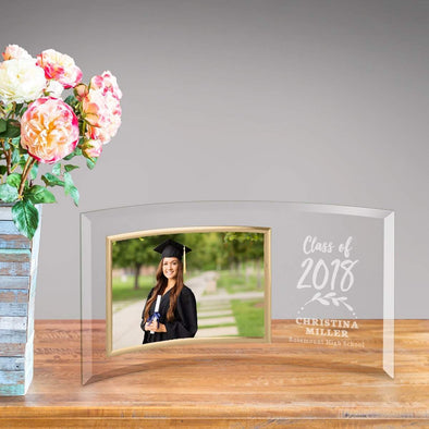 Personalized Graduation Class of 2020 Glass Picture Frame -  - JDS