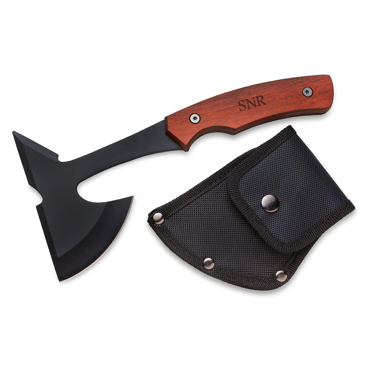 Personalized Set of 5 Saw Mountain Axes