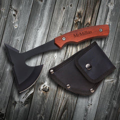 Personalized Saw Mountain USA Axe