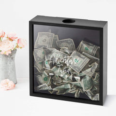 Personalized Adventure Fund Shadowbox -  - Shadow Object - AGiftPersonalized