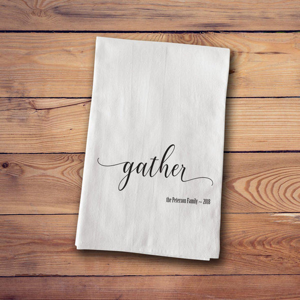Tea Towels - Farmhouse Style - Gather - JDS