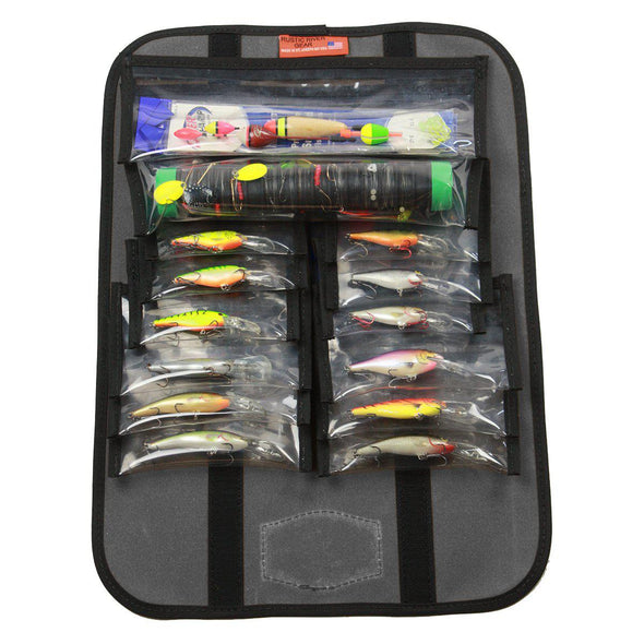 Personalized Fishing Lure Caddy - Charcoal -  - JDS