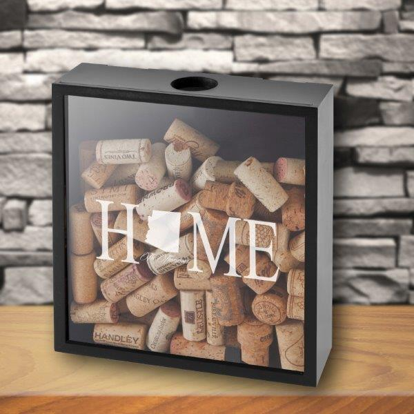 Personalized Shadow Box - Home State